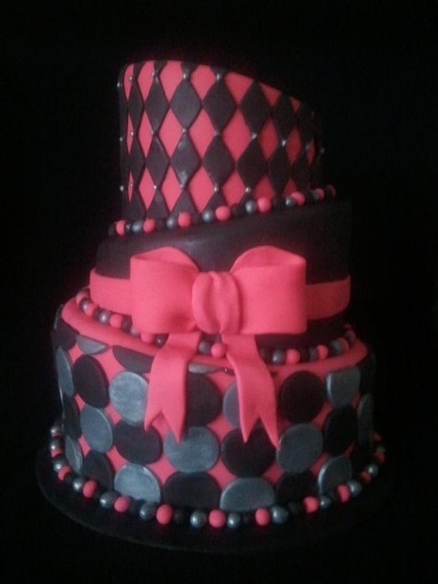 ~Topsy-Turvy Cake~