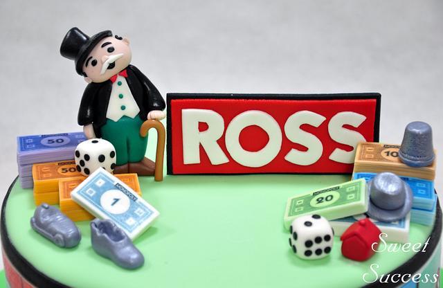 Monopoly Cake