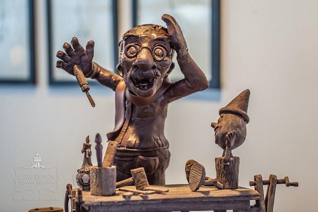 Pinocchio chocolate