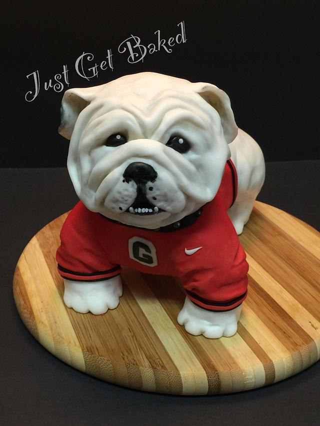 Fun GA Bulldog topper