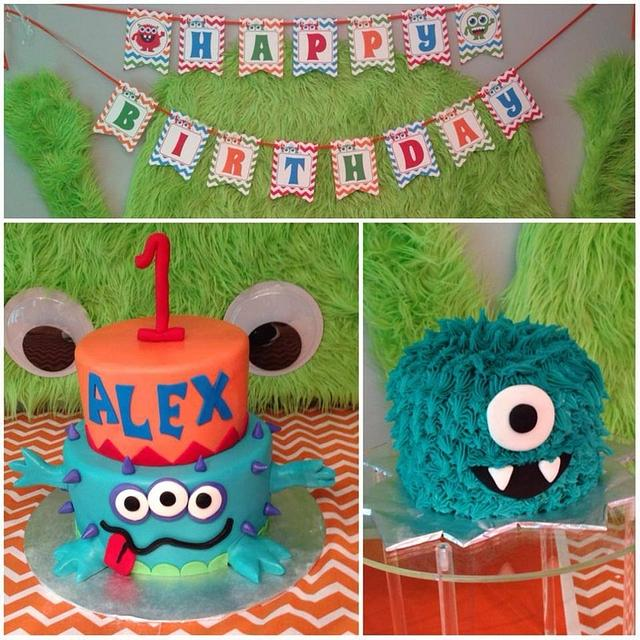 Awesome Monster Birthday Cake Cake By Jamie Cupcakes Cakesdecor Funny Birthday Cards Online Inifofree Goldxyz
