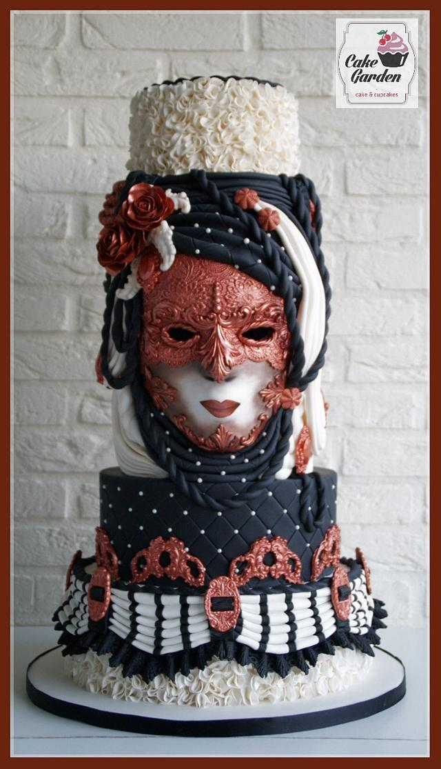 Weddingcake The Venetian Bride