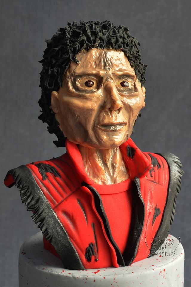 MJ-Triller, Halloween cake topper
