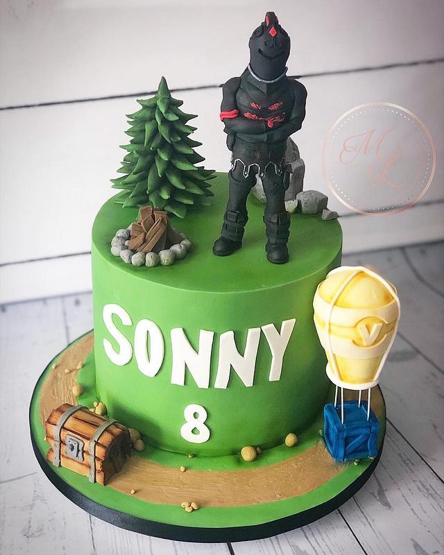 Fortnite black knight cake