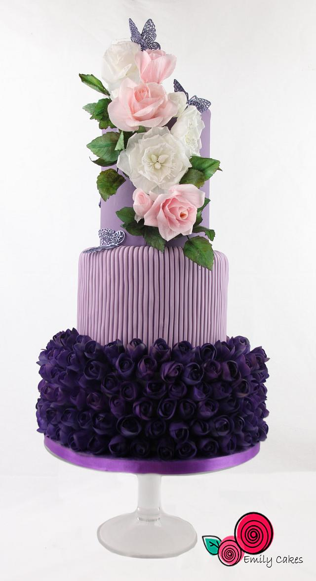 My cake for World Lupus Day SugarArt Collaboration