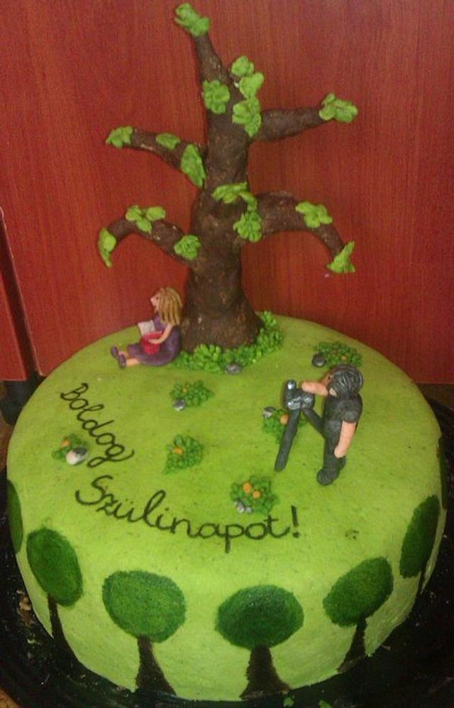 The old tree cake