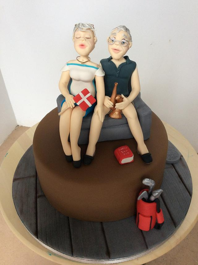 Denmark's couple