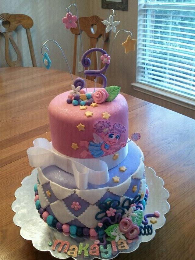 Surprising Abby Cadabby Birthday Cake Cake By Tammy Cakesdecor Personalised Birthday Cards Veneteletsinfo