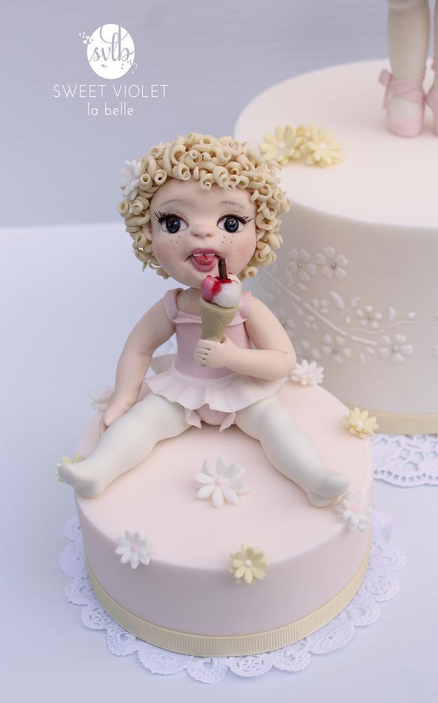 Ice cream ballerina
