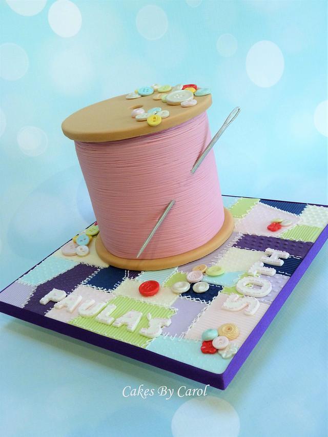 Cotton Reel - Sewing theme