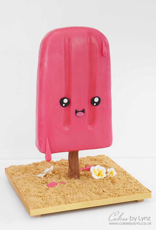 Anti-Gravity Kawaii Ice Lolly Cake