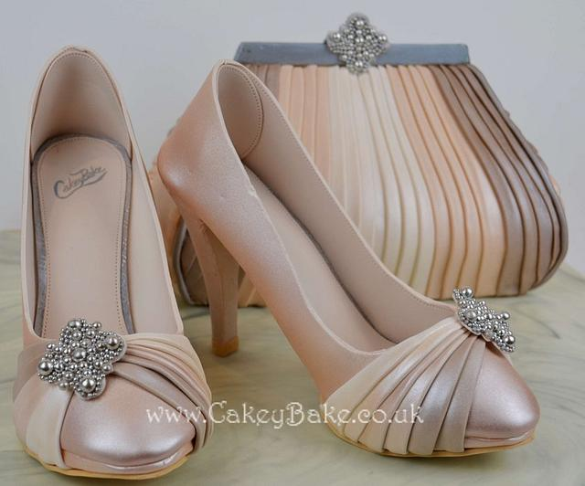 Handbag & Shoes Cake - Cake International Gold Entry :)
