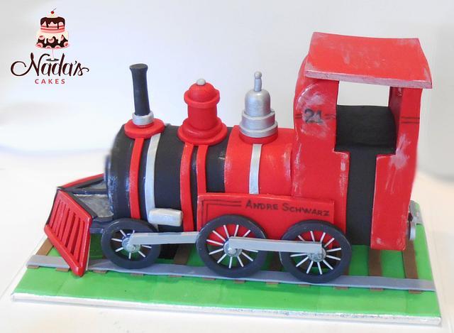 Train Cake Topper