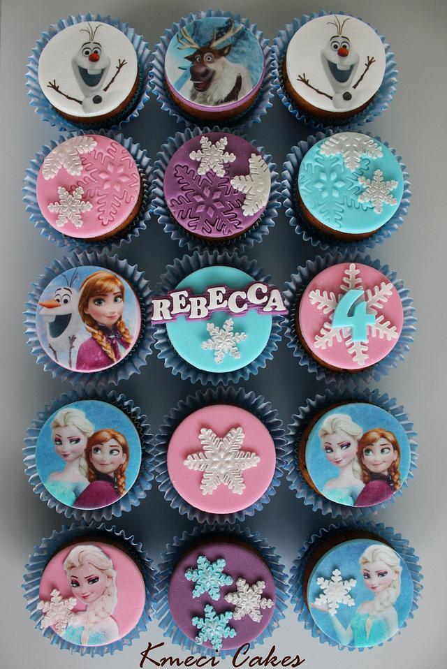Frozen - cupcakes