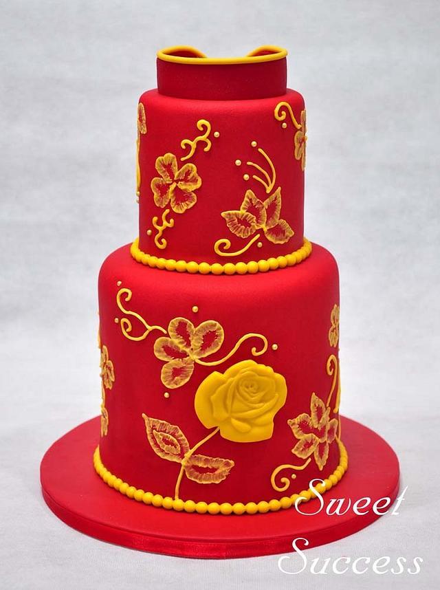 Cheongsam Cake