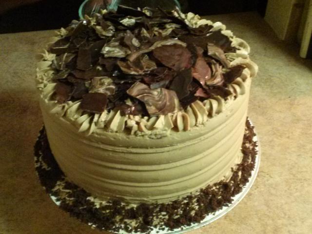 "Chocolate ""Fall Seasonal""  Cheesecake"