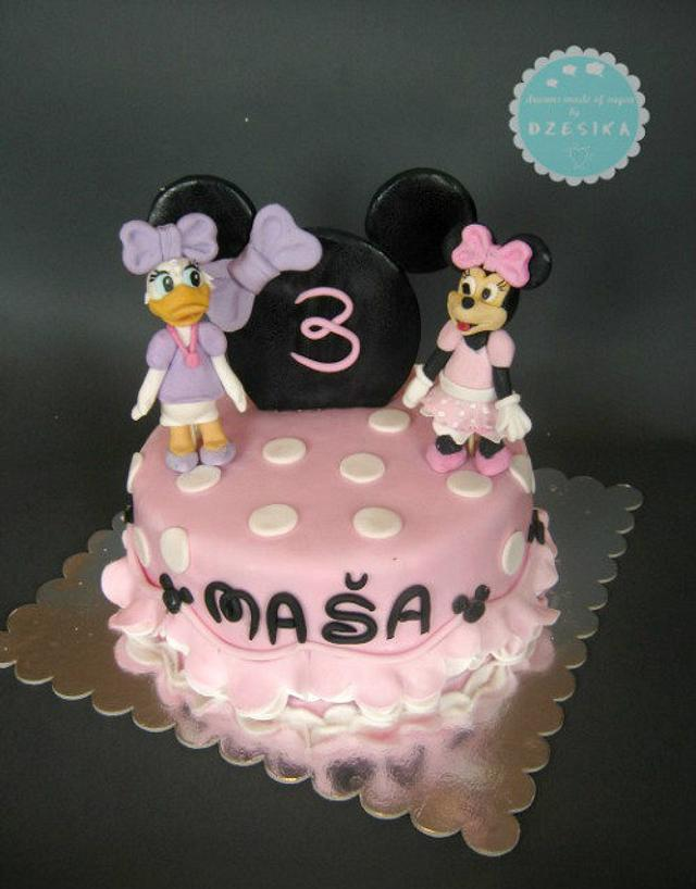 Minnie and Daisy Duck