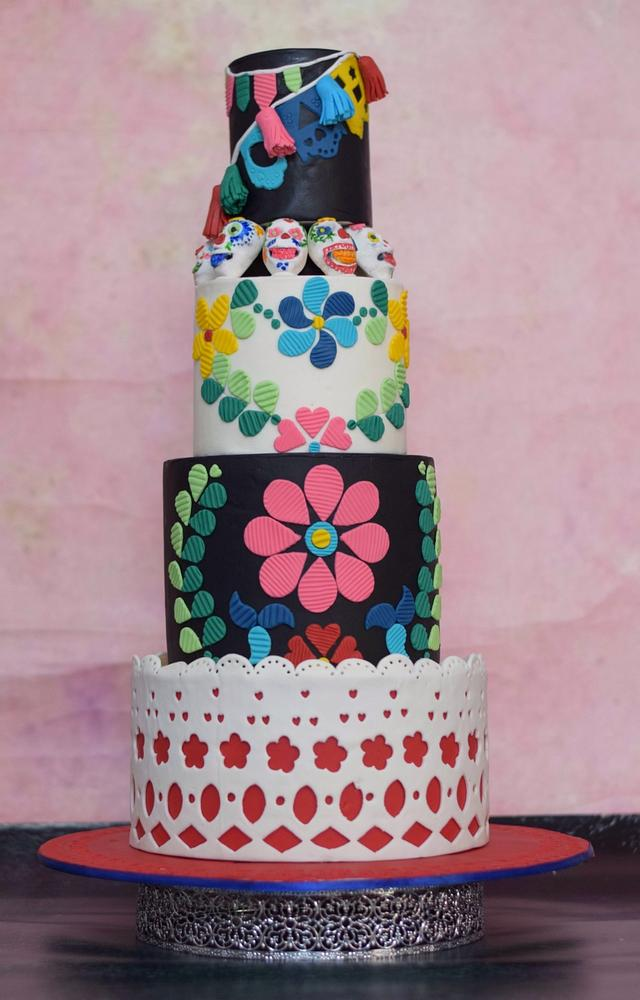 Day of the dead- Mexican wedding cake