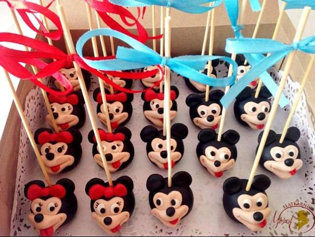 Mickey&Minnie lollypops