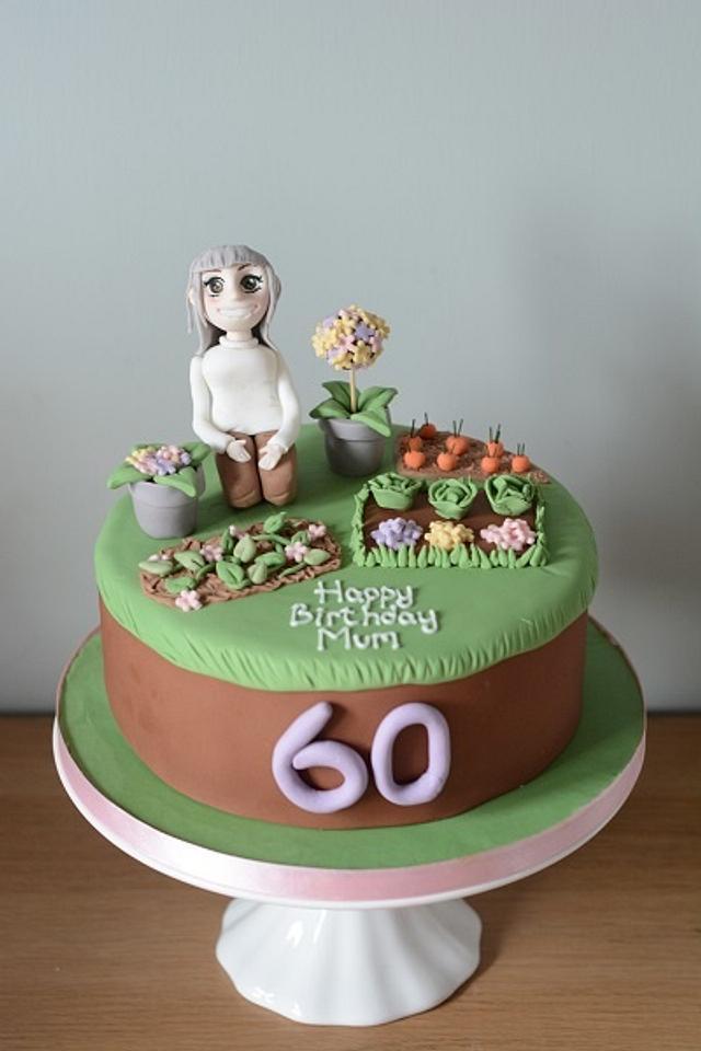 Gardening cake!