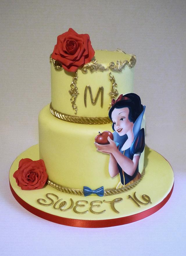 Snow White Cake Cake By Angel Cake Design Cakesdecor