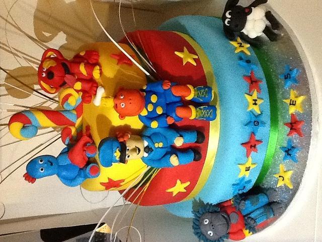 Cbeebies cake