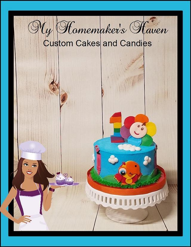 Baby's First Birthday Smash Cake