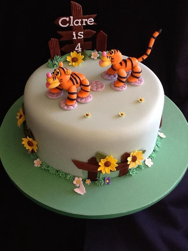 Two tigers cake...