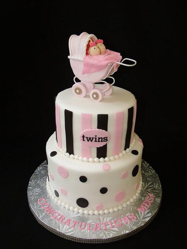 Twins Stroller Cake