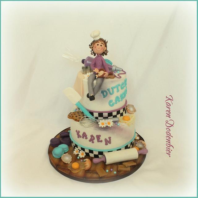 My Own birthday cake!