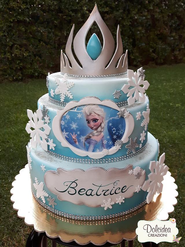 Torta Frozen Elsa Disney Frozen Elsa Cake Cake By