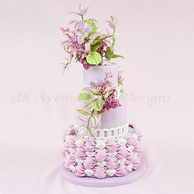 Mariposa Lily Cake