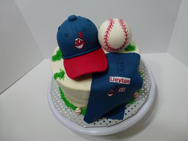 Admirable Baseball Birthday Cake By Chris Jones Cakesdecor Funny Birthday Cards Online Fluifree Goldxyz