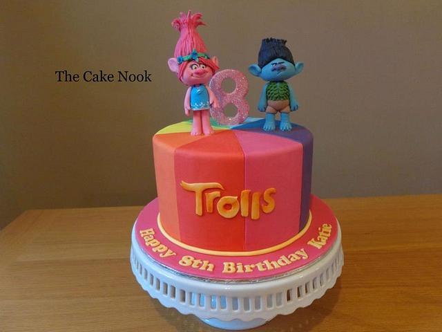 Trolls Cake.