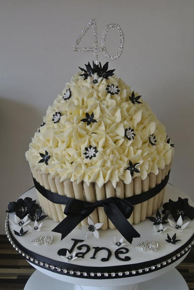 Girly Giant Cupcake's
