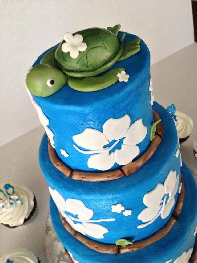 Molly's Luau cake