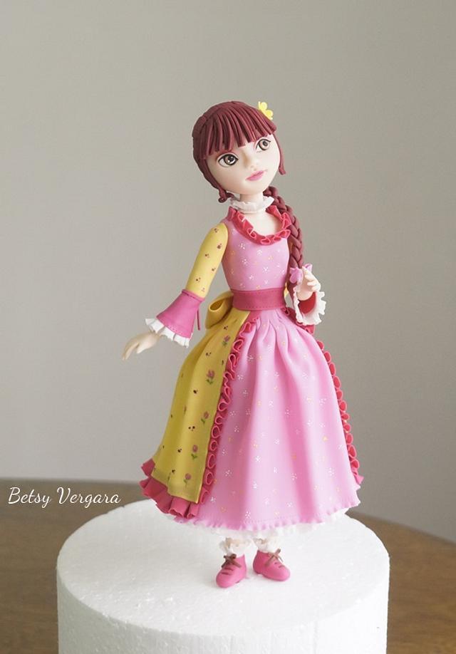 Girl flower dress