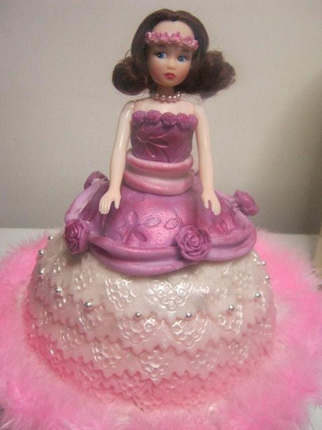 My Barbie Cake