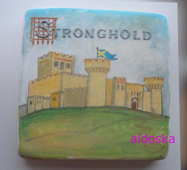 Hand painting - castle