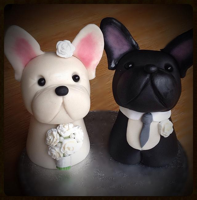 French bulldog toppers