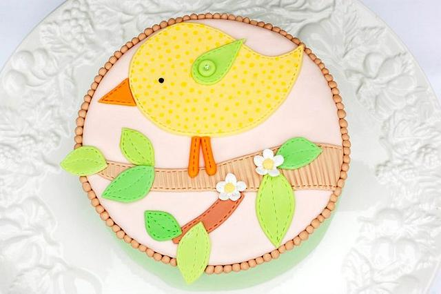 Quilted Eater Cake