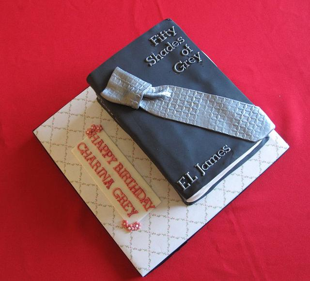 Another 50 Shades of Grey Birthday Cake