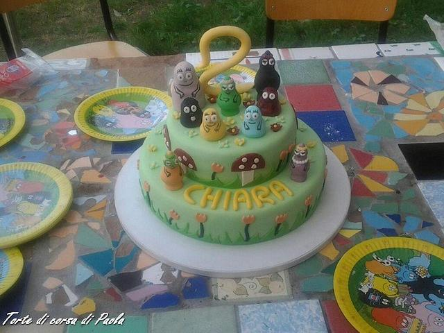 Incredible My Daughter Second Birthday Cake Cake By Tortedicorsa Cakesdecor Funny Birthday Cards Online Eattedamsfinfo