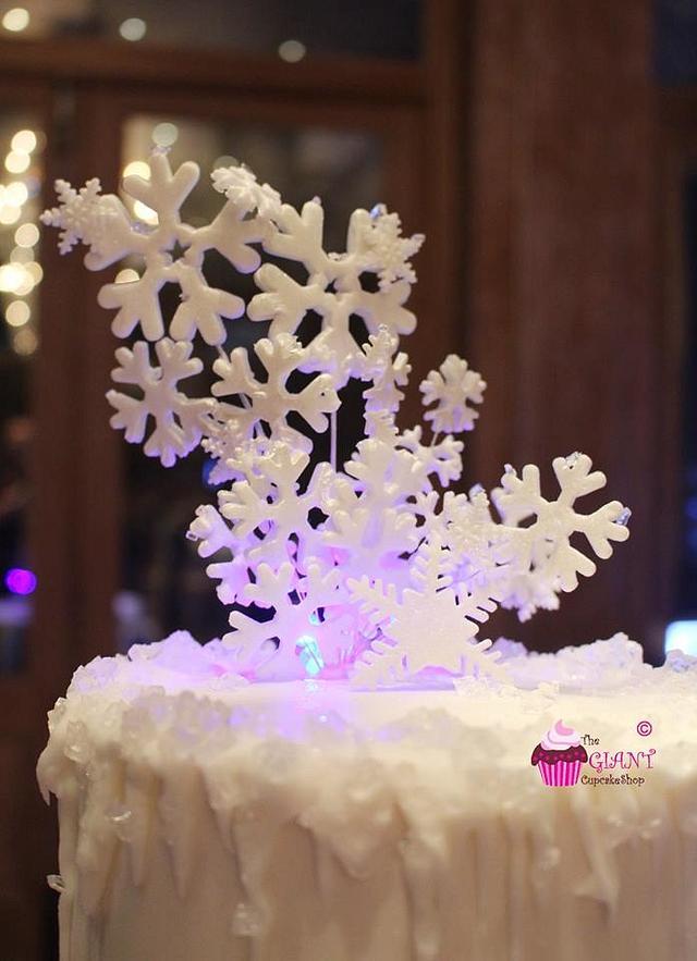 Snowflake wedding