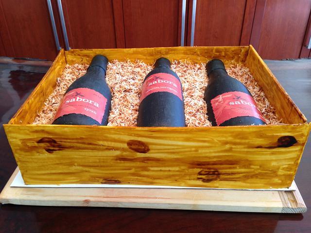 Wine Release Cake