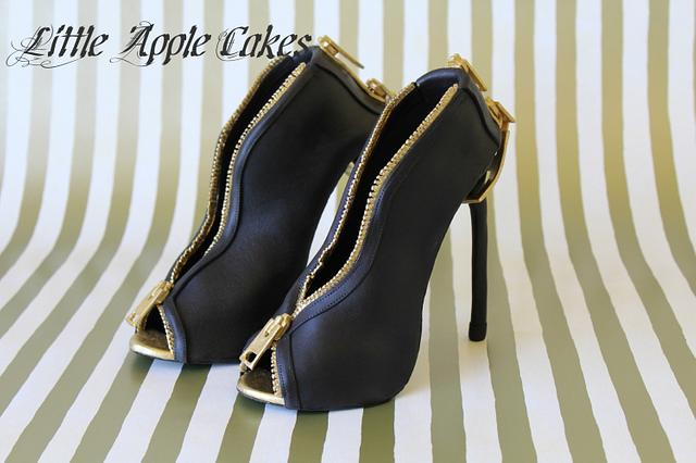 Nighttime Chic Sugar Shoes ~ From Inspirations ~ To Creation