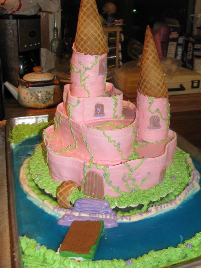 Princess Castle With Jello Moat
