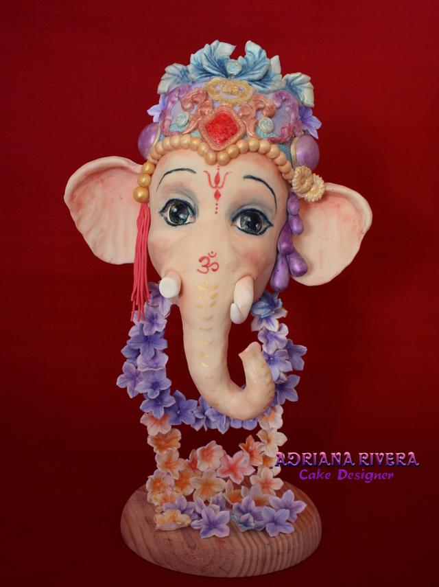 Ganesha Happy Holi