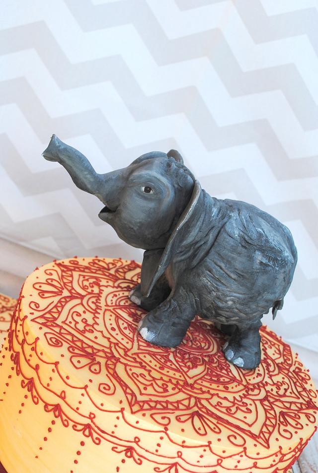 Mehendi Elephant