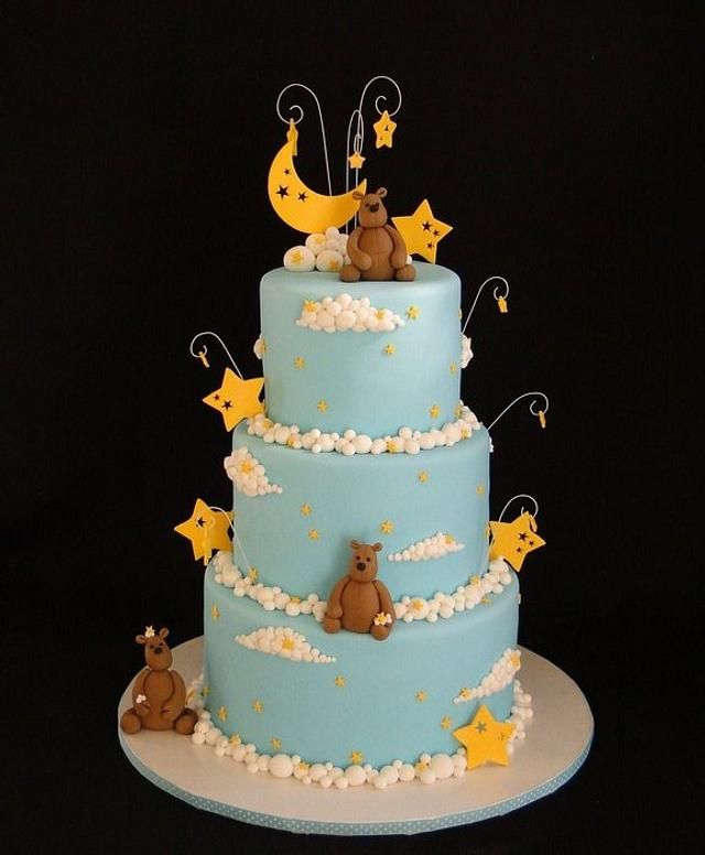 Beary Cloudy Dream Cake